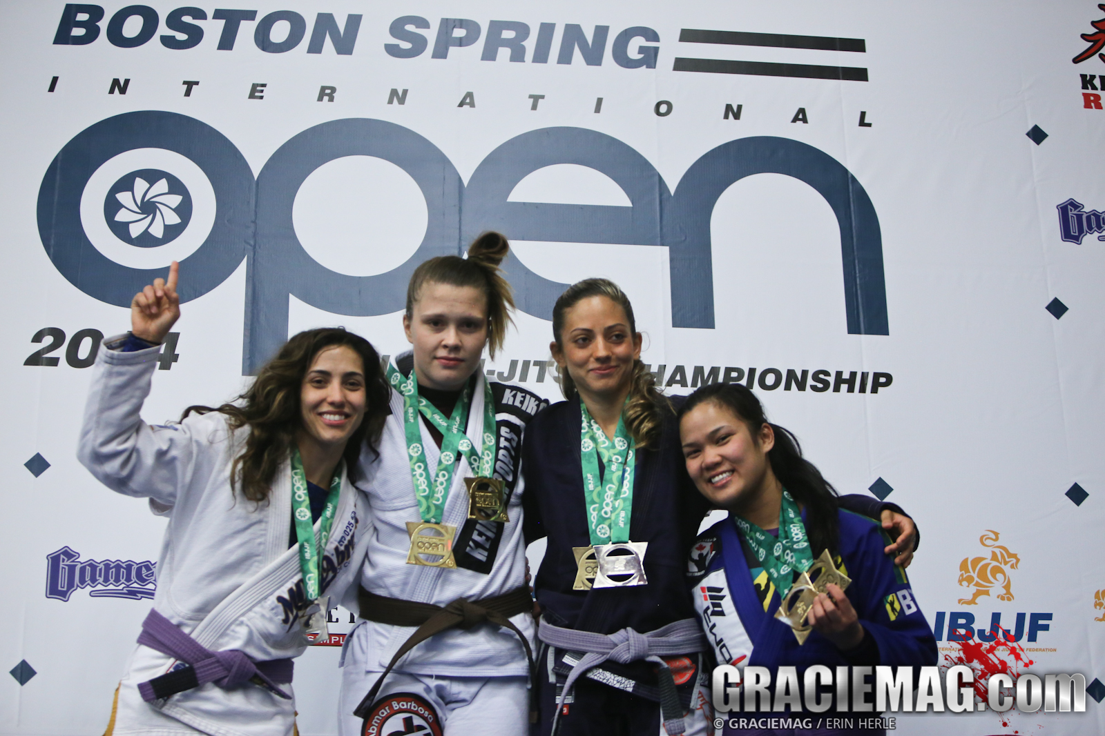 The ladies of the purple belt absolute. Photo: Erin Herle
