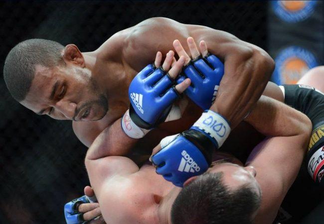 Faixa-preta de Jiu-Jitsu, Raoni Barcelos exalta treinos com Glover para RFA