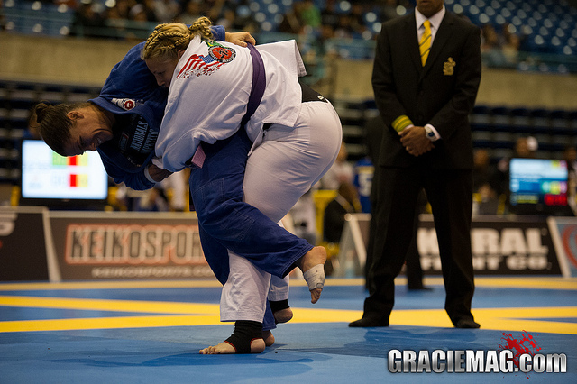 "Purple belt Sarah Black on training late in life: ""I do everything I can to be as effective as possible."""