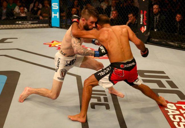 Reveja a cabeçada que encerrou a luta de Rani Yahya no UFC Abu Dhabi