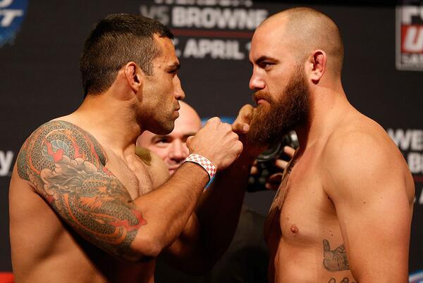 Confira os resultados do UFC: Werdum x Browne