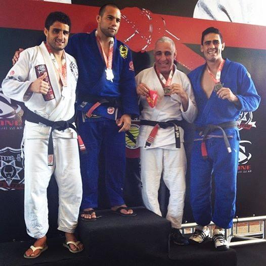 GFTeam domina absoluto, com Alberto Ramos e Vinicius Marinho. Foto: Arquivo Pessoal