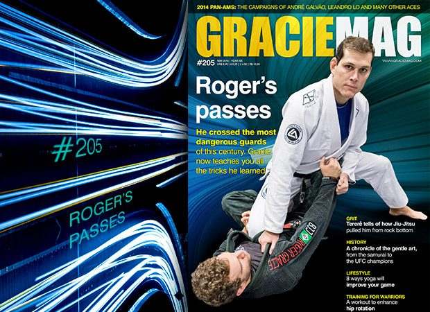 GRACIEMAG #205: The secrets to Roger Gracie's guard pass