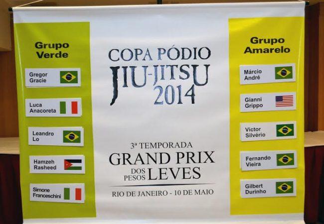 Confira o cronograma oficial do GP de Leves da Copa Pódio