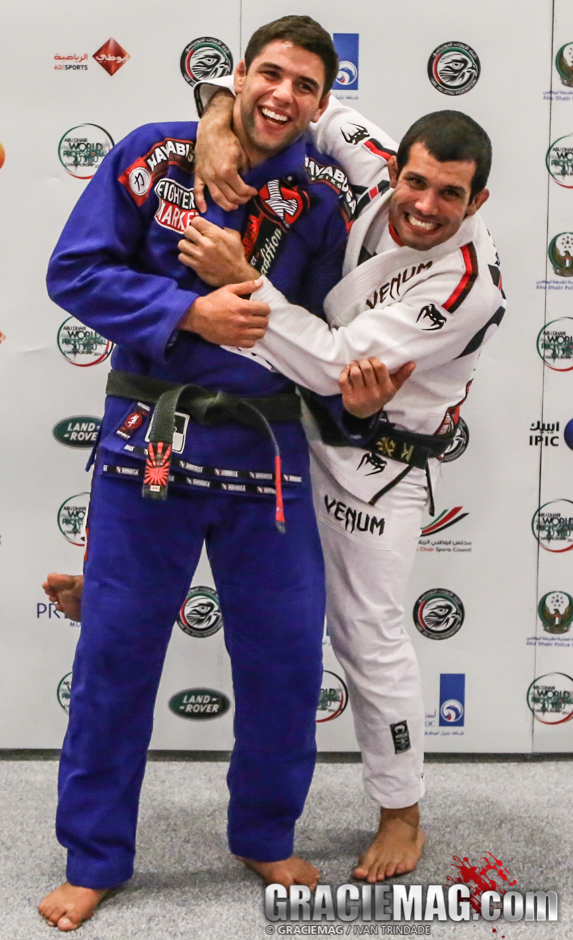 The two most dominant athletes in BJJ today met at the weigh-in in Abu Dhabi and acted nothing like the bullys you see in MMA