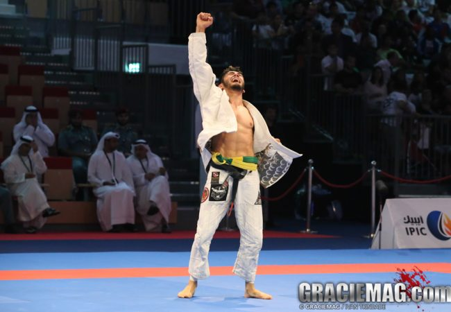 2014 WPJJC: watch Satoshi defeat Benini for his third gold medal in Abu Dhabi