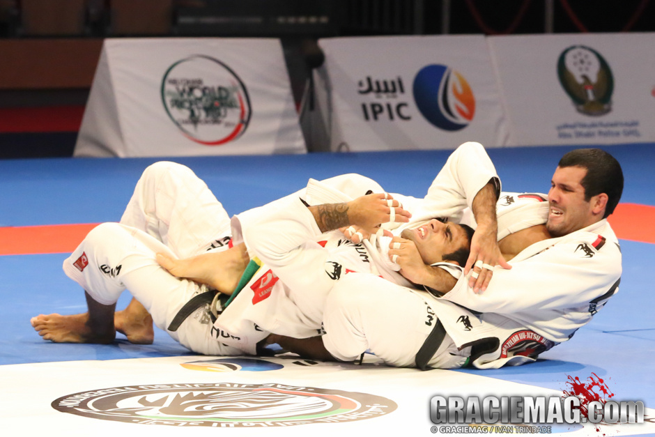 Leandro Lo did what he could in the open class in Abu Dhabi, but could not avoid tapping to Rodolfo Vieira