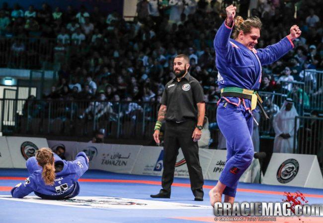 2014 WPJJC: watch how Gabi Garcia won the open class for the third time in Abu Dhabi