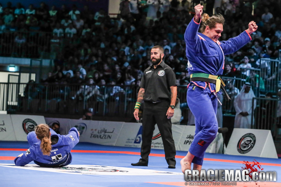 Gabi Garcia made only one appearance in big events this year to win double gold in Abu Dhabi