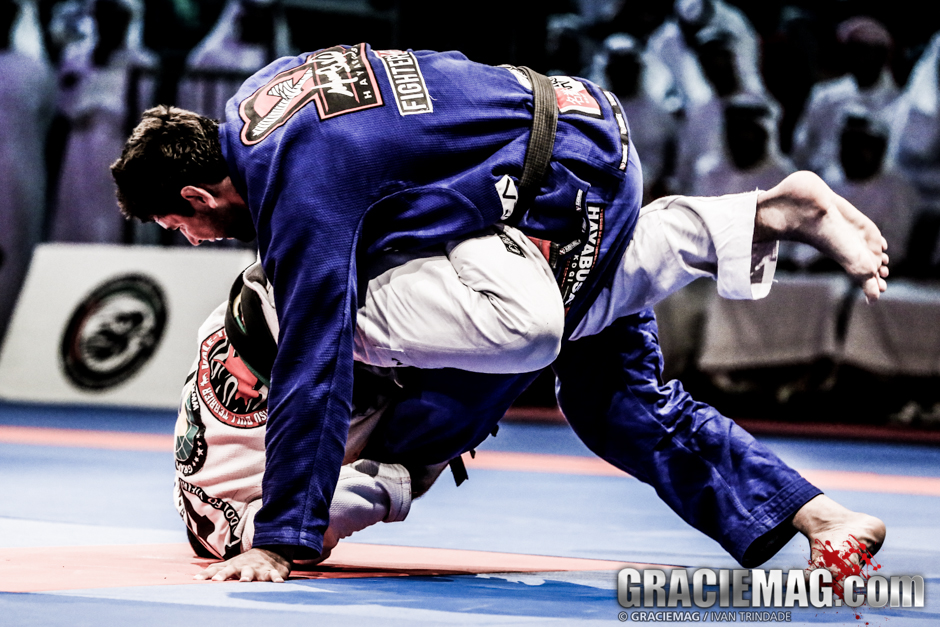 Despite all of Rodolfo's pressure, Buchecha managed a last-second sweep to win his second gold medal in the absolute