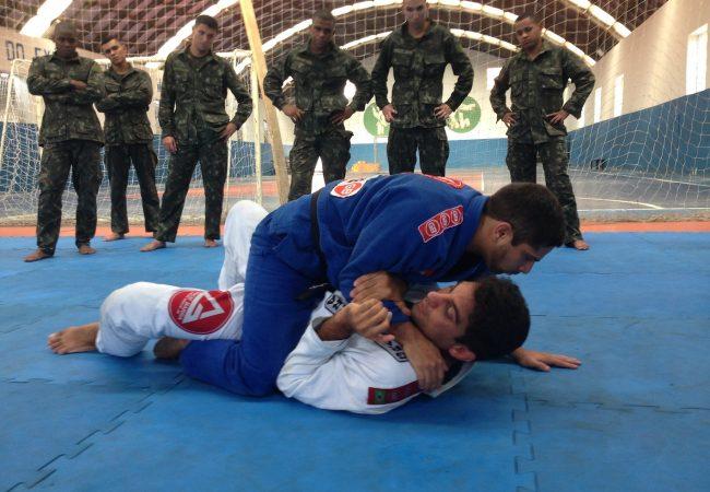 Exército brasileiro convoca o Jiu-Jitsu em treino especial no Rio de Janeiro