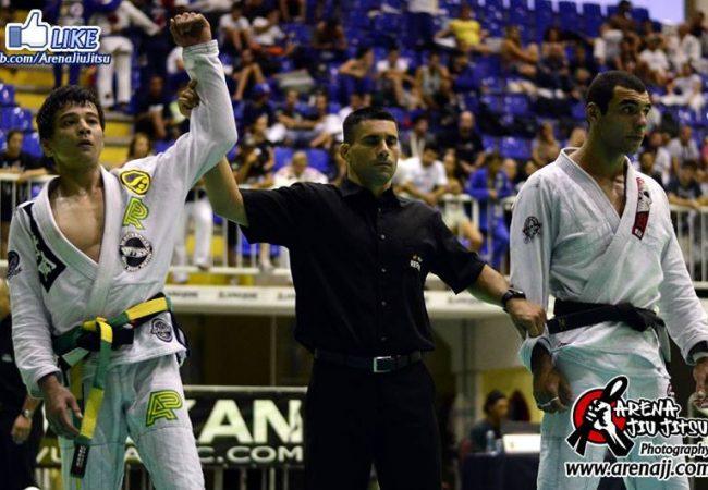 Sul-Brasileiro: veja a final do absoluto faixa-preta entre Paulo Miyao e Jurandir Vieira
