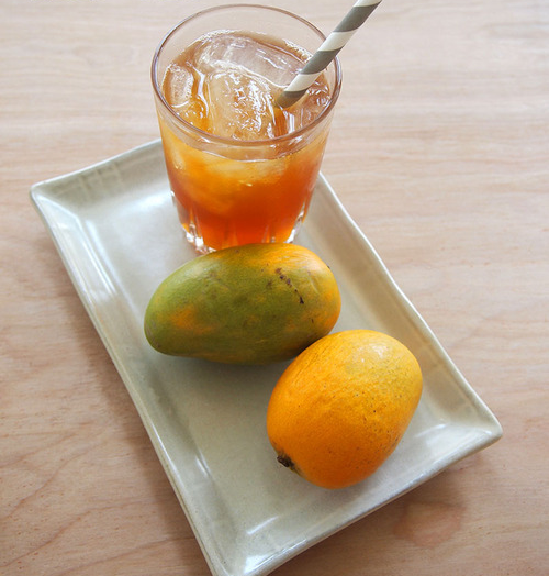 Mango Ginger Ice Tea