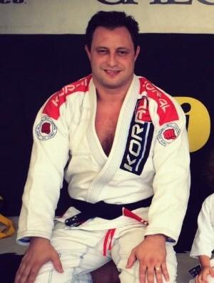Renato Gardenal, faixa-preta de Jiu-Jitsu. Foto: Arquivo Pessoal