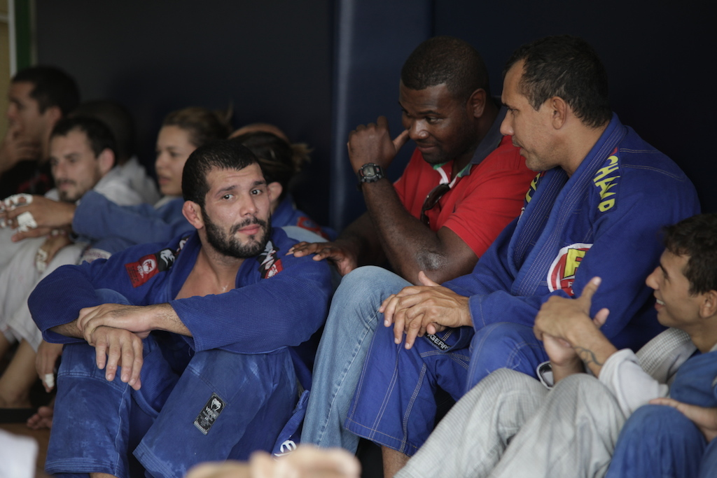"""Após um treino """"leve"""" de seis sessões de sparring, Rodolfo analisou o jogo de Buchecha e como será sua tática desta vez. Foto: Miguel Mello/GRACIEMAG"""