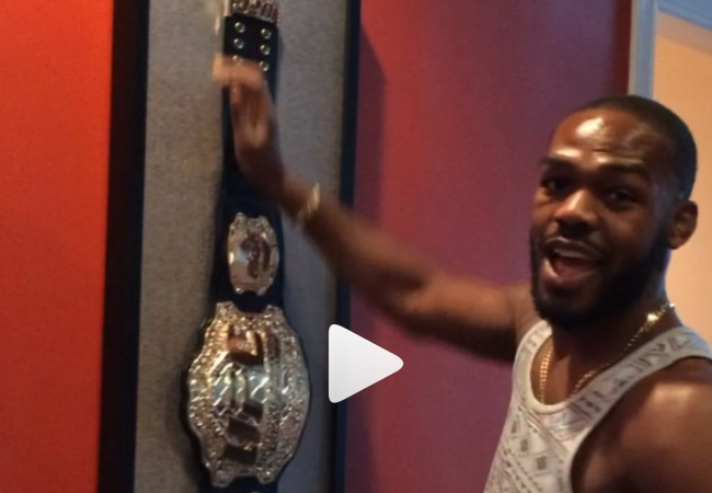 Jones puts his UFC belt back on the wall. Who can take it away from him?