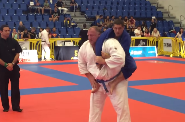 Video: Featherweight tackles the absolute at the Boca Raton Open in an exciting match