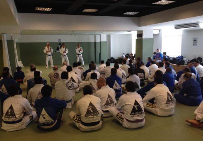 O discurso de Gurgel no seminário com Romero Jacaré e Gigi na Alliance