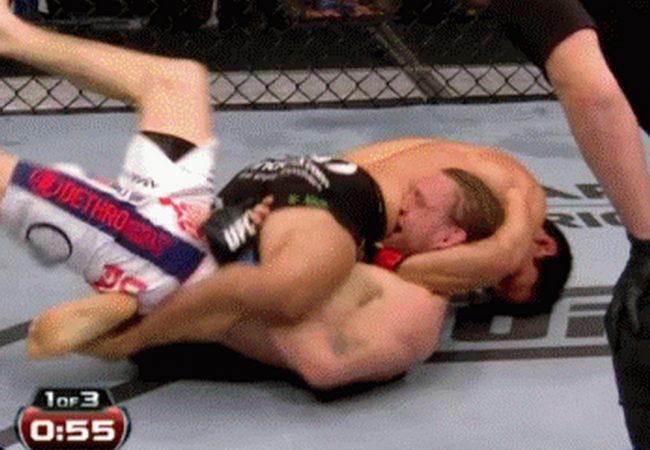 Vídeo: A guilhotina de Benavidez e a esperneada de Elliott no UFC 172