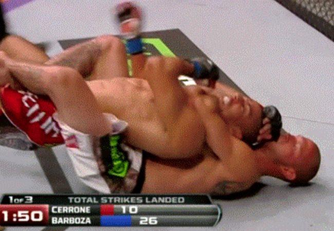 Vídeo: Cerrone finaliza Edson Barboza em virada relâmpago no UFC