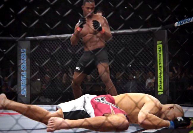 Vídeo: Jon Jones nocauteia Glover Teixeira em trailer do jogo do UFC