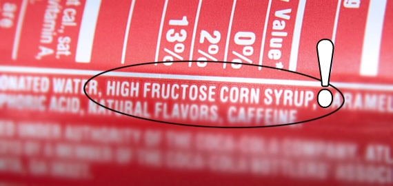 Read labels to avoid HFCS