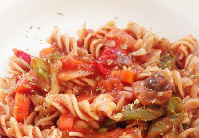 GRACIE DIET: Gluten Free Veggie Pasta