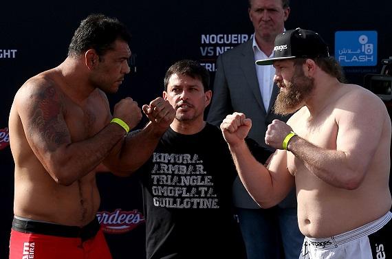 Confira os resultados do UFC Abu Dhabi: Minotauro x Nelson