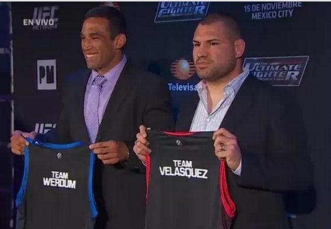 """UFC confirma Werdum x Velasquez no """"TUF América Latina"""" e luta em novembro"""