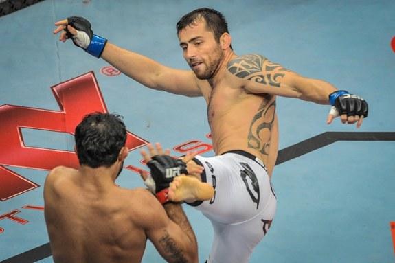 João Zeferino, o samurai brasileiro, atua no Talent 11. Foto: UFC/Divulgação
