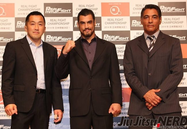 News from Japan: Kron Gracie signs with Real Fight Championship for MMA debut in August