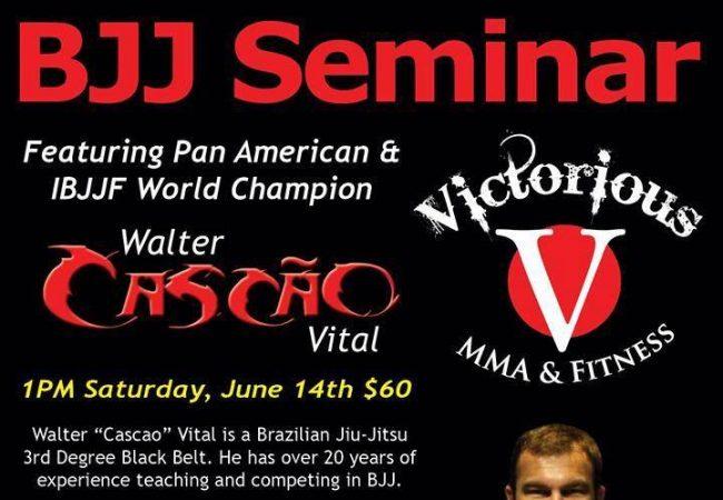 Catch a Walter Cascao seminar in Troy, Michigan on Saturday, June 14