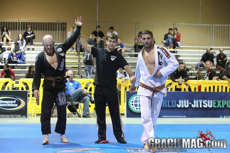 Darragh in the brown belt GP at the 2013 World Jiu-Jitsu Expo. Photo: Erin Herle