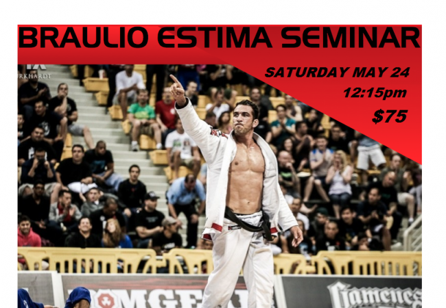 Los Angeles: GMA Gracie Barra Northridge to host Braulio Estima seminar on Saturday, May 24