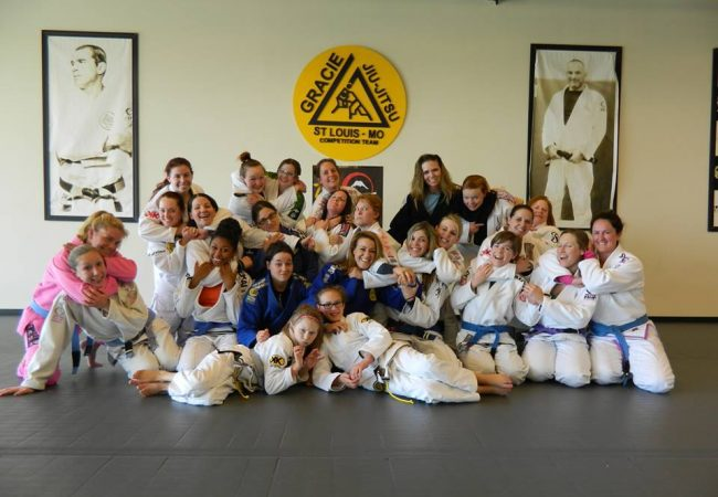 Jena Bishop of GMA Gracie Humaita St. Louis brings thirty women together for training camp