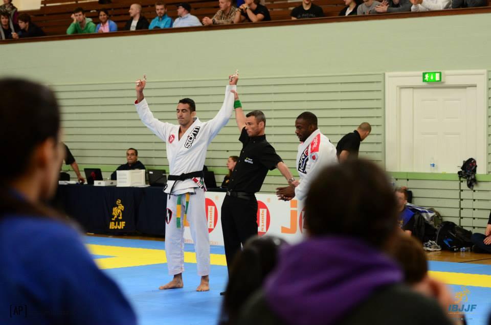 Braulio Estima wins the open. Photo: Jesper Aggergaard