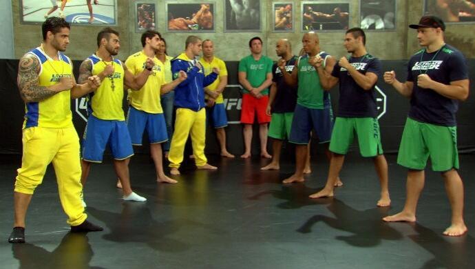 Os oito semifinalistas do TUF estão garantidos no evento que ocorre em São Paulo, no fim do mês. Foto: Reprodução/UFC
