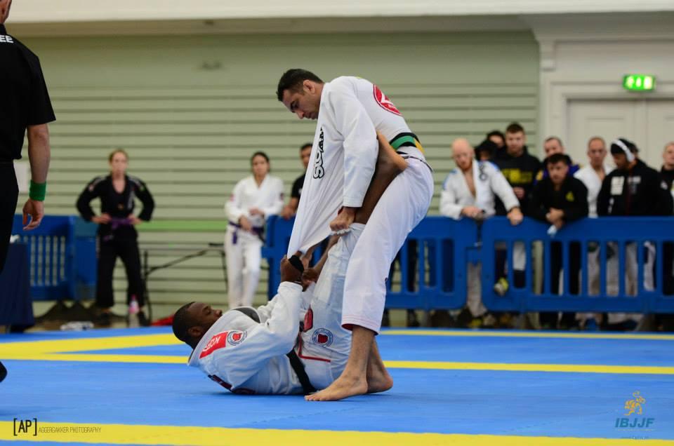 Finfou em ação no Jiu-Jitsu. Foto: Jesper Aggergaard