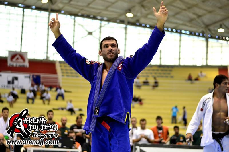 Claudio Caloquinha, campeão do Brasileiro 2014. Foto: Marco Aurélio/Arena Jiu-Jitsu