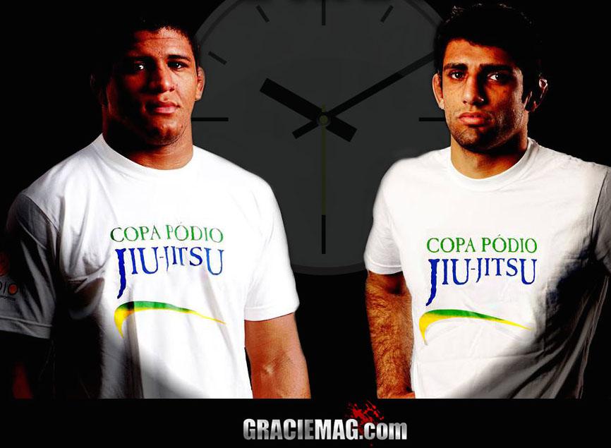 Gilbert Durinho e Leandro Lo em rota de colisao na Copa Podio em setembro de 2014 Foto Podio