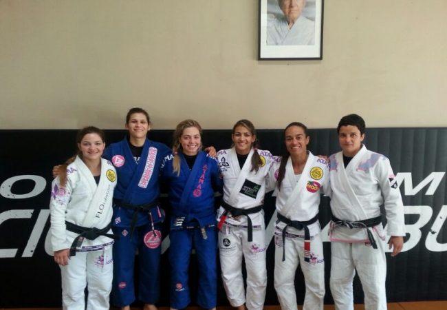 Um treino histórico para o Jiu-Jitsu feminino antes do Mundial 2014