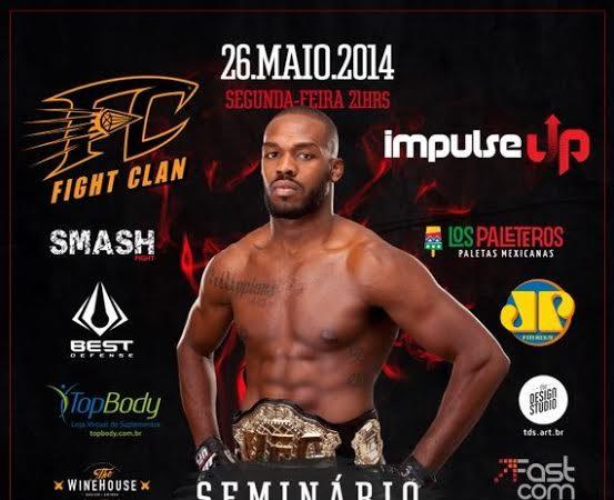 Aprenda uma posição de MMA e saiba mais sobre o seminário de Jon Jones, hoje