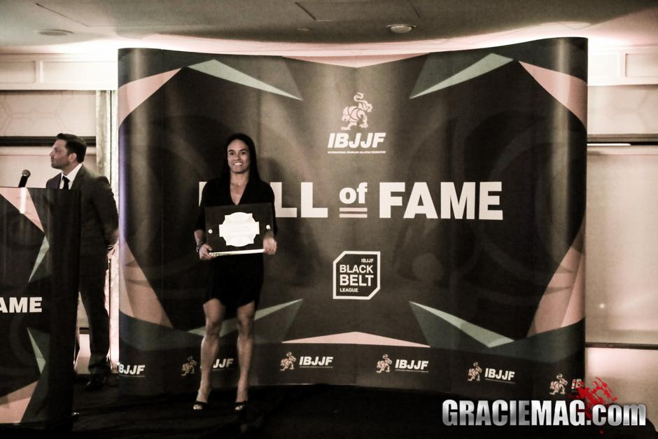 Leiticia Ribeiro, sete vezes campeã mundial de Jiu-Jitsu. Foto: Ivan Trindade/GRACIEMAG