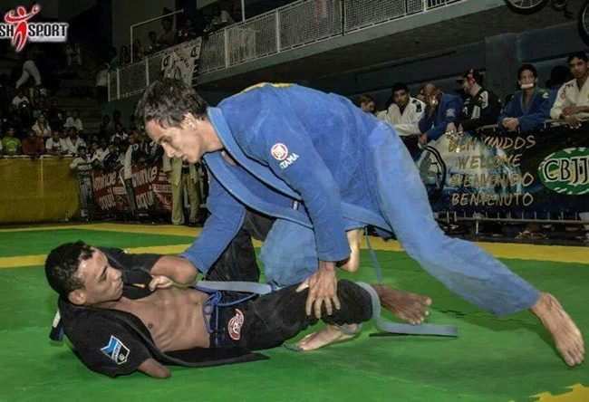 Disabilities are no match for Jiu-Jitsu: How one blue belt has gone beyond his limitations