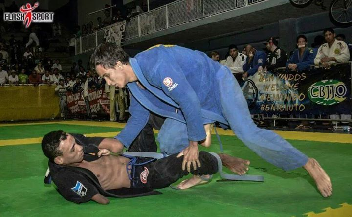 Luciano competing in Brazil. Photo: Elena Stowell