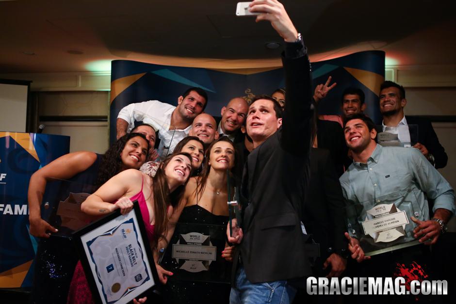 Selfie do Jiu-Jitsu. Foto: Ivan Trindade/GRACIEMAG