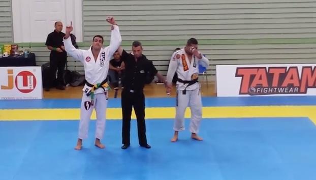 Video: Black belt open class finals ends in cramp at the IBJJF Copenhagen Open
