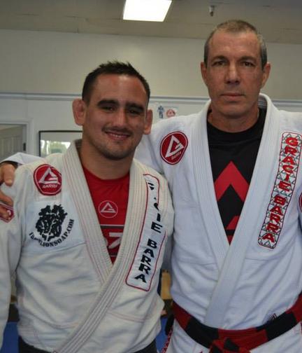 Juan Pablo Garcia and Carlos Gracie Jr