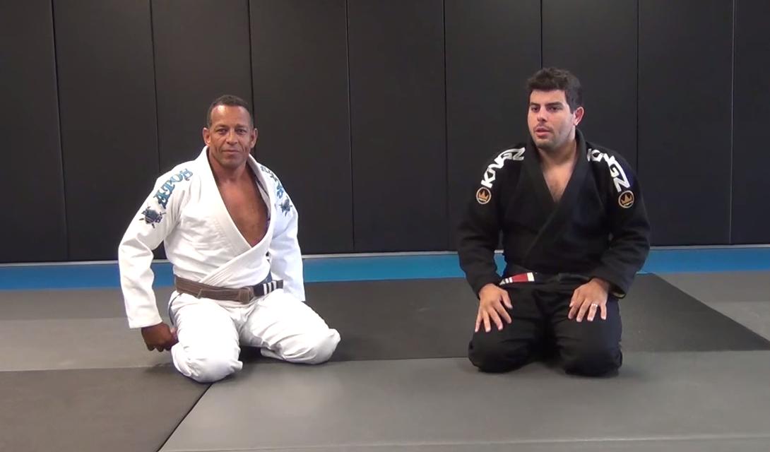 Leo Davila teaches berimbolo