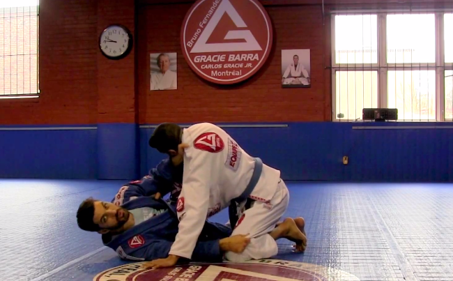 Video: Add a sweep from z-guard to your arsenal from GMA Gracie Barra Montreal